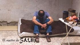 """Farid Fatmi interpretando a Salih en """"El sueño de Salih"""""""